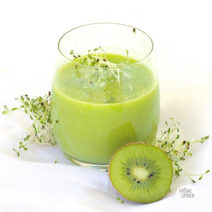 Lucernespire juice med citron FRISKE SPIRER