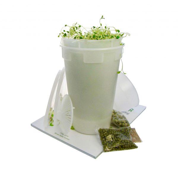 Easy Sprout Sprouter spirer hvid startpakke FRISKE SPIRER