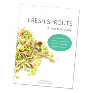 FFRESH SPROUTS A Guide to Sprouting book in shop
