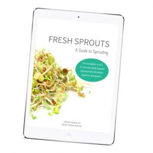 FRESH SPROUTS A Guide to Sprouting ebook for shop