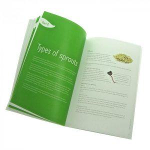 Spirebogen engelsk af Miriam Sommer FRISKE-SPIRER FRESH-SPROUTS