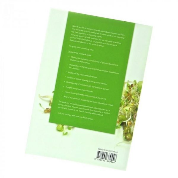 Sproutbook print english Miriam Sommer FRESH SPROUTS