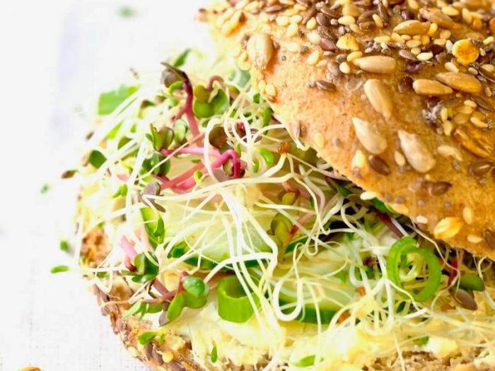 Sandwich med spirer FRISKE SPIRER