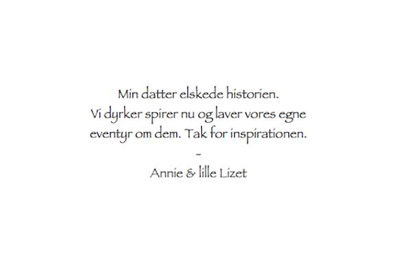 Anmeldelse Spirens Store Oenske Annie & Lizet