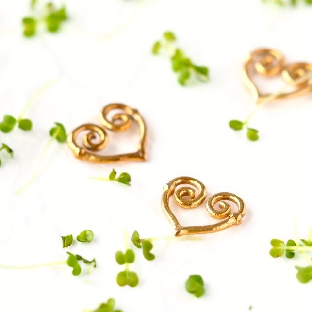 Broccolispirer med hjerter FRISKE SPIRER