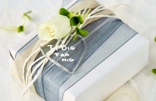 Ideer til gaveindpakning med spirer FRISKE SPIRER