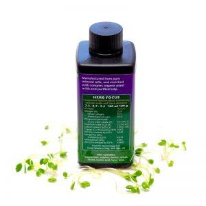 Mikrogroent goedning Herb Focus indhold FRISKE SPIRER