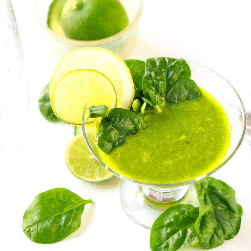 Juice med solsikkespirer