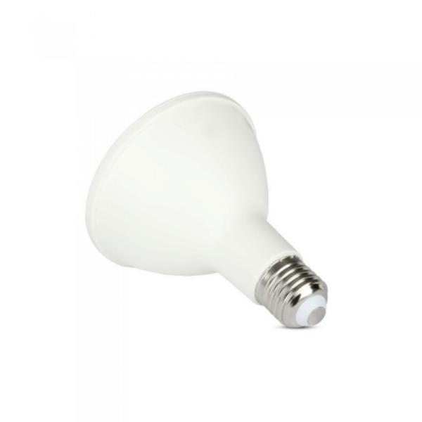 mikrogroent LED hvidt vaekstlys e27 sokkel