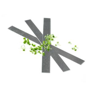 Planteskilte i galvaniseret staal plantemaerke